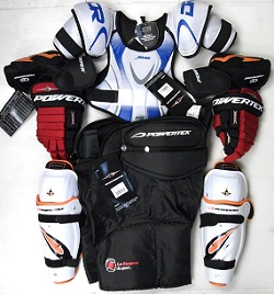 hockey equipment kit