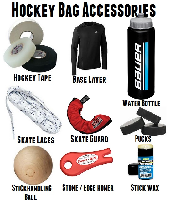 hockey bag accessories