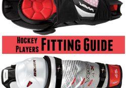 hockey shin pads fitting guide