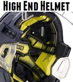 high end hockey helmet
