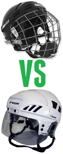 hockey cage or visor
