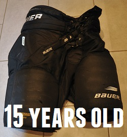 used-hockey-pants