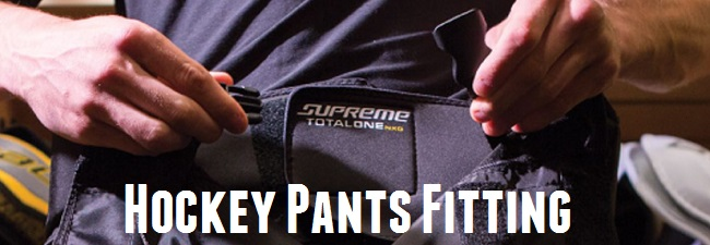 hockey pants fitting guide
