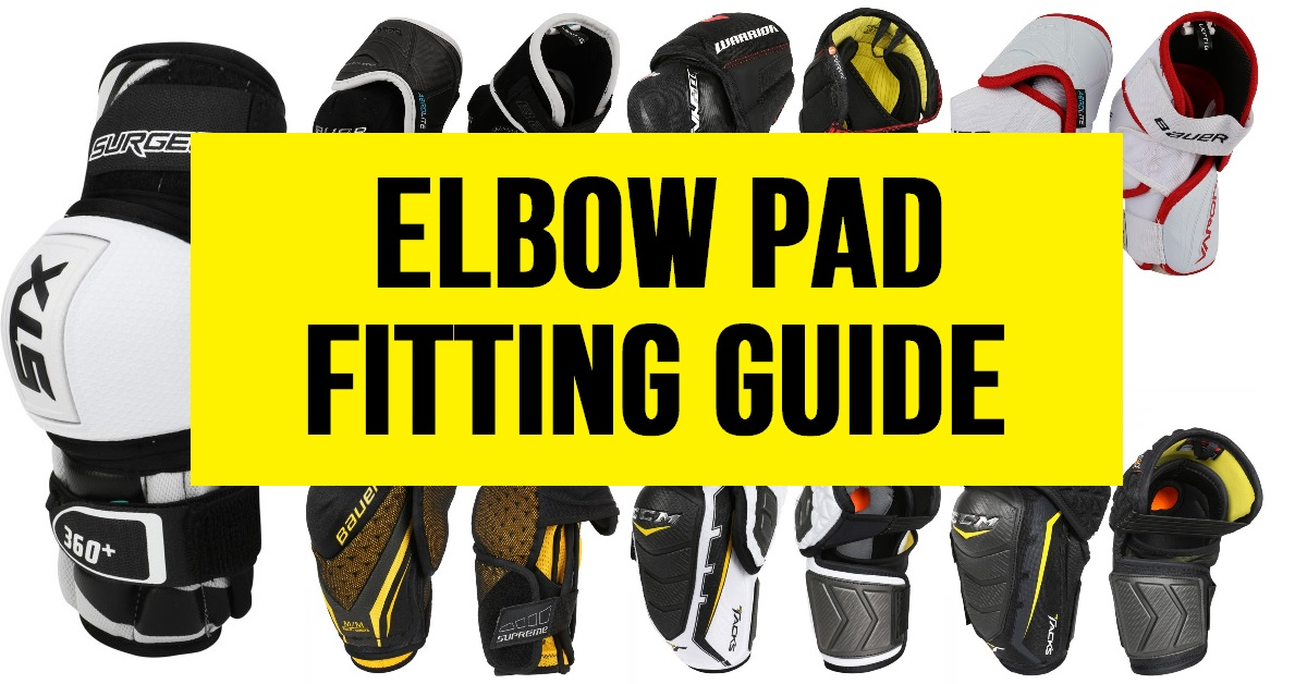 68d1fad5830 Elbow Pad Fitting Guide for Hockey Players