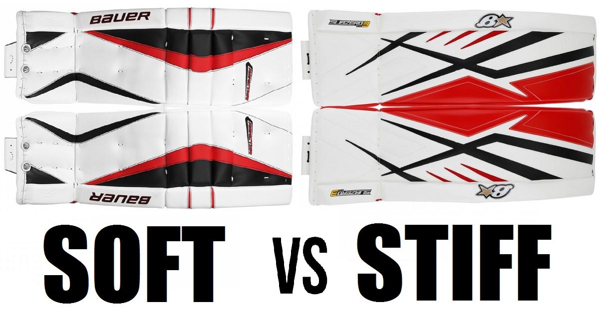 Soft Goalie pads vs Stiff Goalie Pads